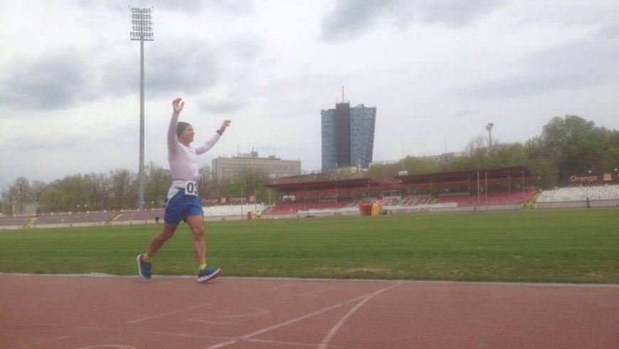Nou record național la 6 ore de alergare