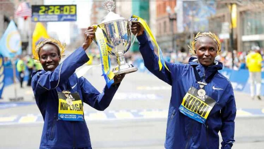 Kenya se impune la Boston Marathon
