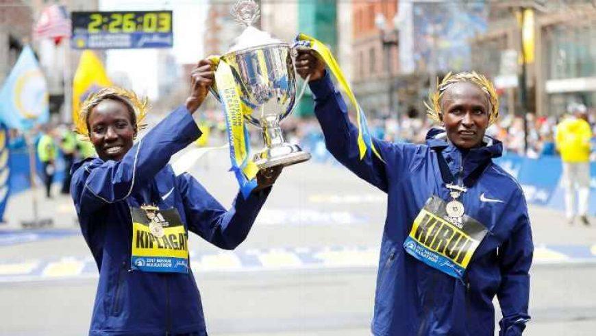 Kenya se impune la Boston Marathon