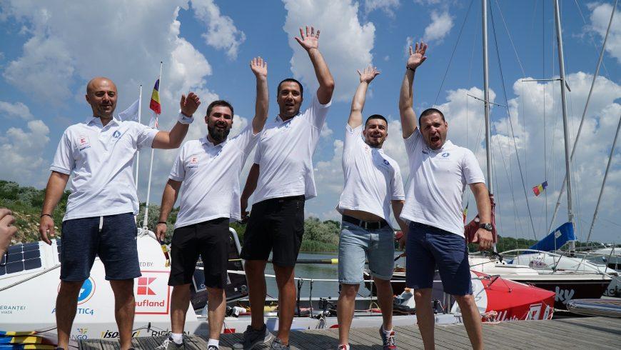 Un echipaj românesc este foarte aproape de recordul de traversare a Mării Negre!