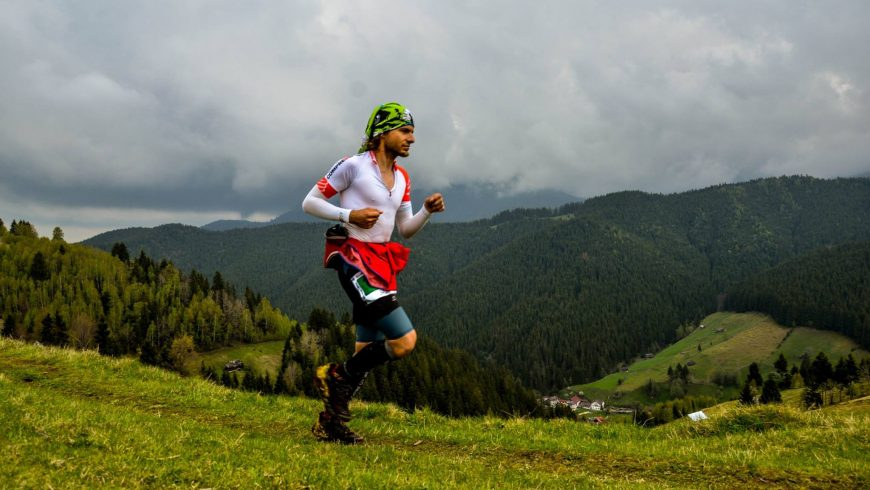 David Iancu, primul finisher român la Swiss Iron Trail