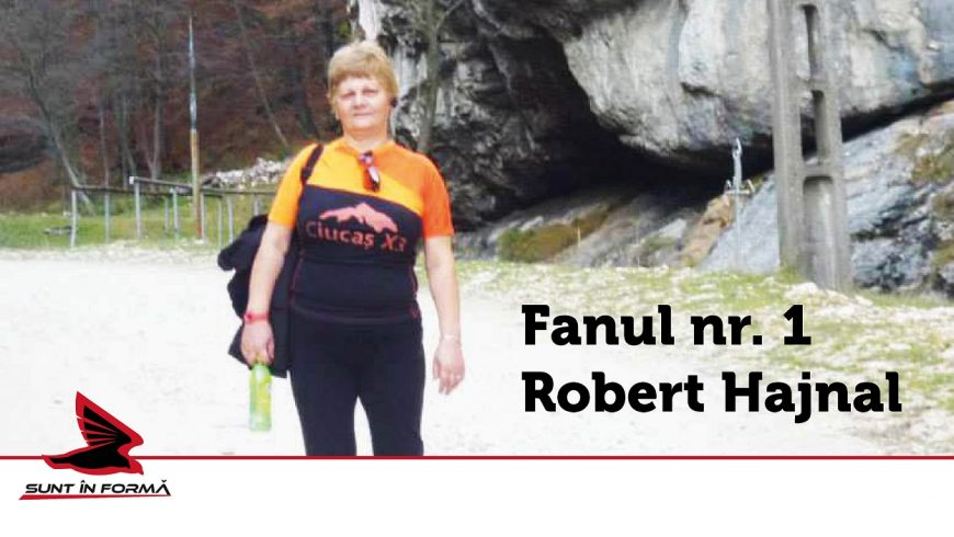 Fanul nr. 1 Robert Hajnal