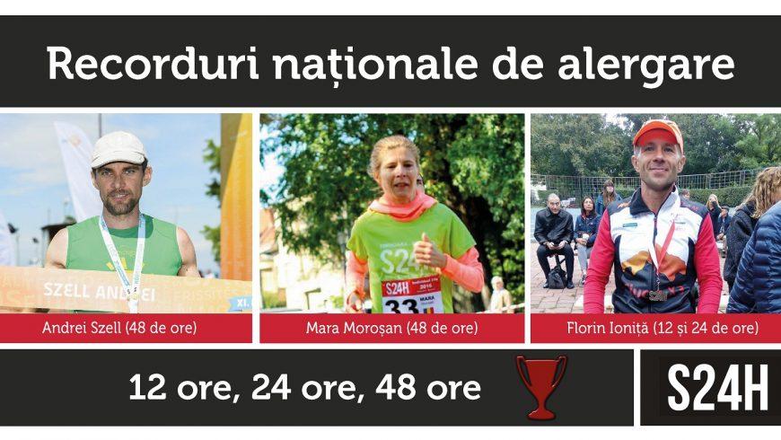 Recorduri naționale de alergare la S24H