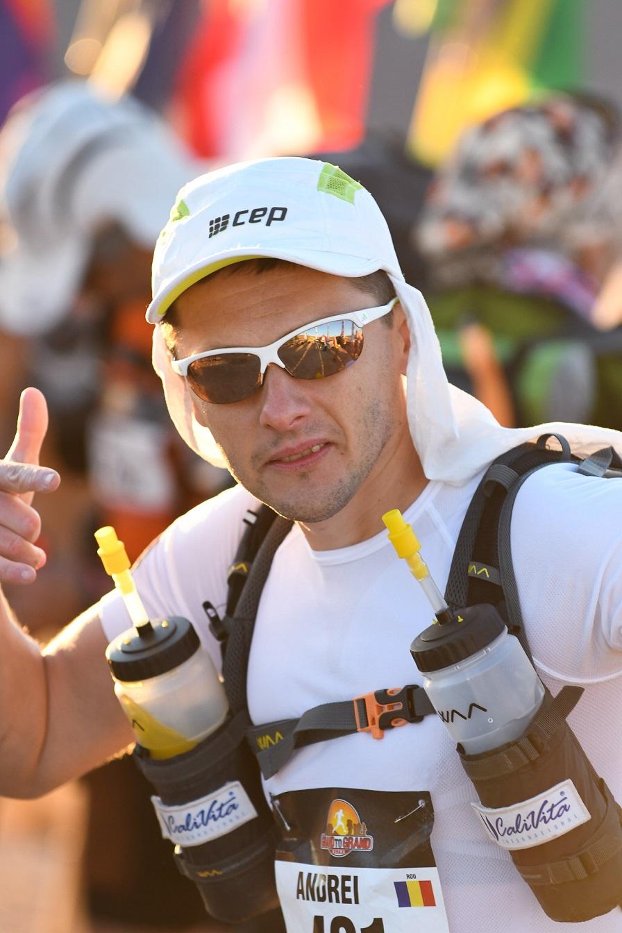 Andrei Gligor reușește cel mai bun rezultat din carieră la Grand to Grand Ultra