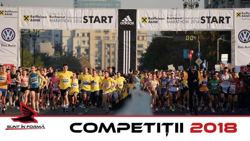 Concursuri de alergare 2018