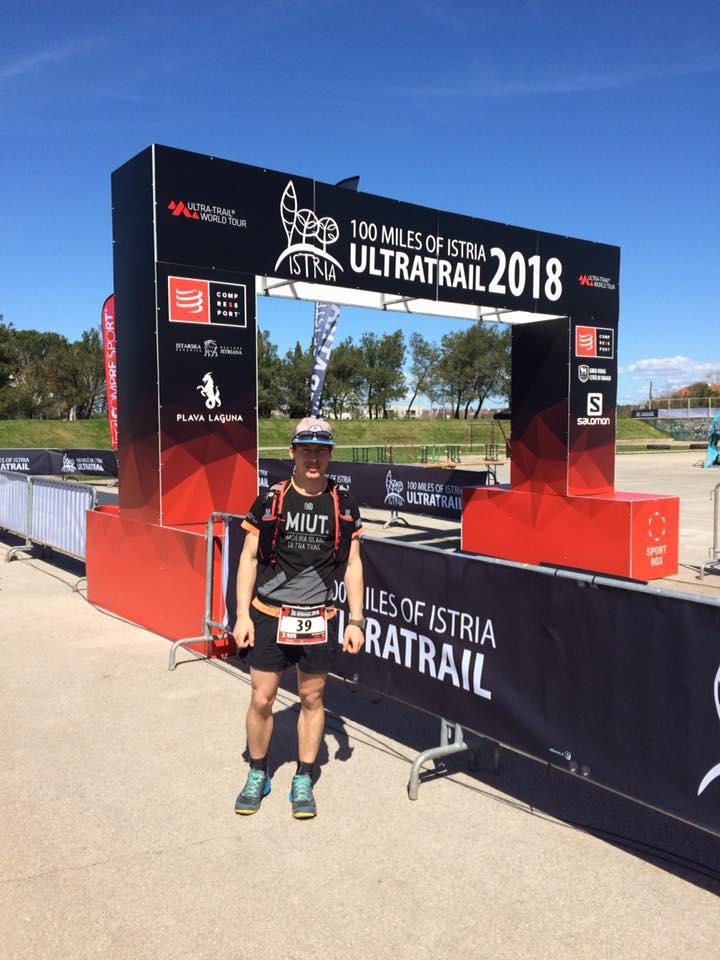 Alex C. Petruț, primul român finisher la Istria 100 de mile 2018!