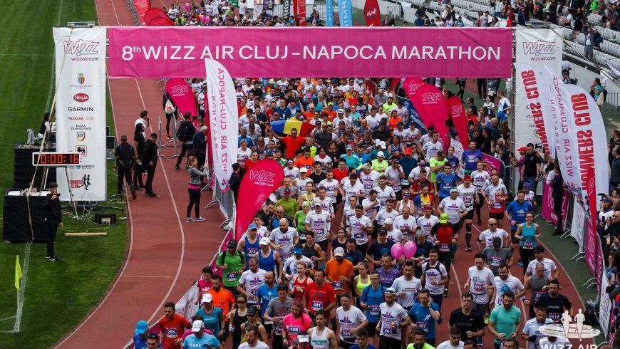 Număr record de participanți la Maratonul Internațional Cluj și din nou un câștigător din Africa