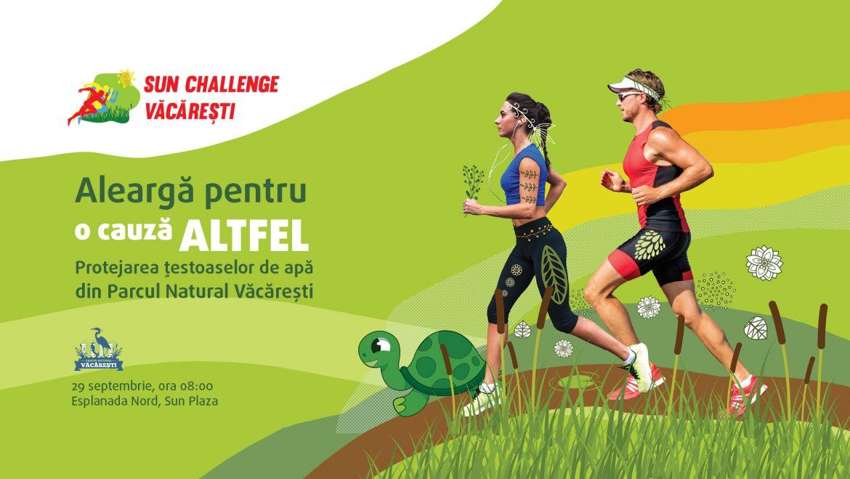 Sun Challenge Văcărești – primul cros organizat pentru conservarea țestoasei de apă din Parcul Natural Văcărești