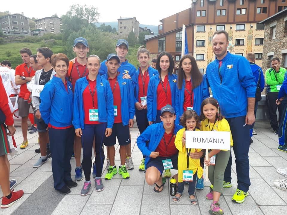 Locurile 3 și 4 în alergarea montană mondială pentru juniorii României