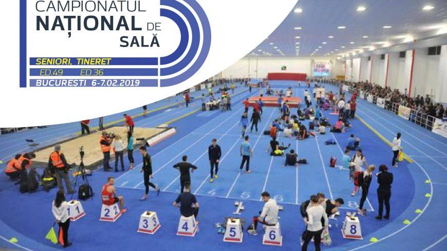 Start Campionatul Național de sală pentru seniori și tineret