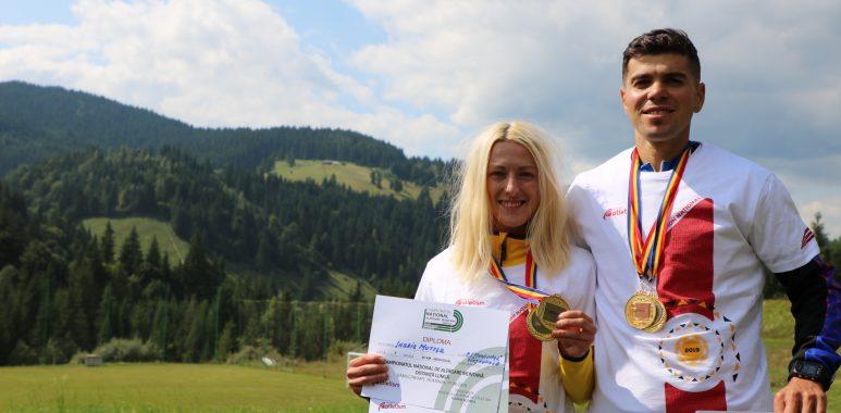 Ingrid Mutter și Cristian Moșoiu sunt campionii naționali la alergare montană pe distanță lungă